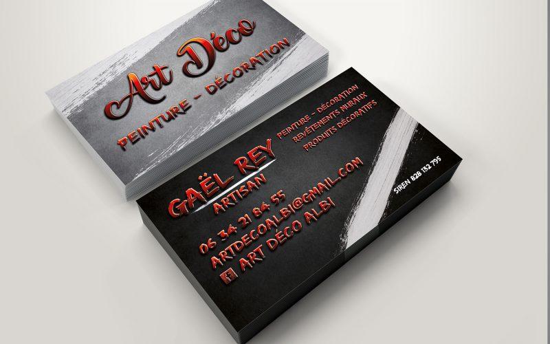 Cartes de visites Art Déco Albi (Gaël Rey)